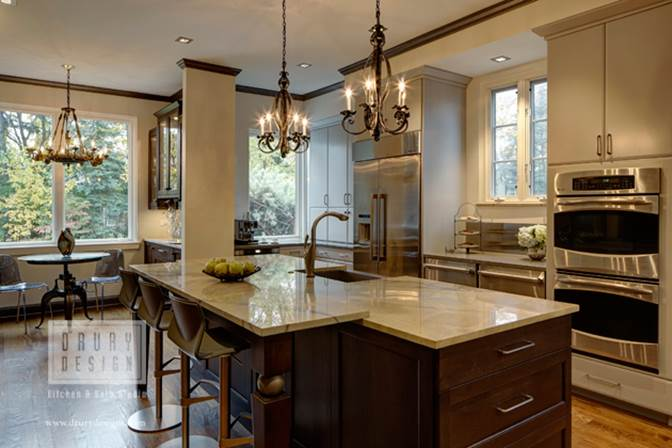 Drury Design Award Winning Chicago Kitchen DesignMost Dramatic Makeover Award  Winning Kitchen, As Chosen By Modern Luxury/CS Interiors And NKBA Chicago  ...