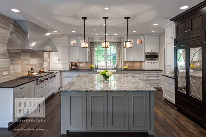 Drury Design Award Winning Chicago Kitchen DesignNKBA Chicago Midwest  Chapter First Place Professional Design Award Large Kitchen | Designer:  Janice Teague ...