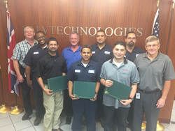 ValvTechnologies' Employees Complete National Board Certifications