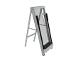 The One Step Ladder is an automatic ladder that takes people up and down to a set height with no effort on the user's part.