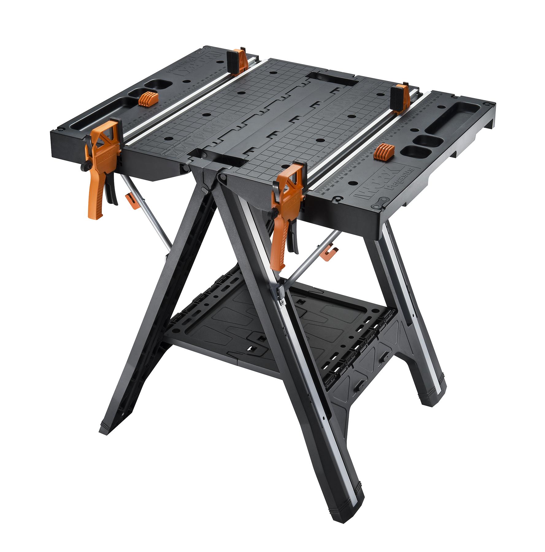 New WORX Pegasus WorktableSawhorse and WORXSAW Make Great DIY Pairing