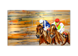 Artist Erik Skoldberg and British Customs Host Art Exhibit at Del Mar Racetrack to Support Opening Day Race Season