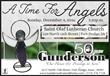 """A Time For Angels"" Service Of Remembrance Will Be Held At St. Olaf Lutheran Church On December 4th And Sponsored By Gunderson Funeral Home And Cremation Services"