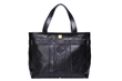 Country Lane Tote Bag in Black