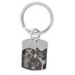 Dog Tag Keychain by PhotoScribe