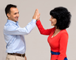 CEO Tino Melita and COO Elena Kirsanova