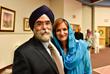 Rev. Shannon O'Hurley and Dilpreet Jammu