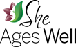 She Ages Well logo