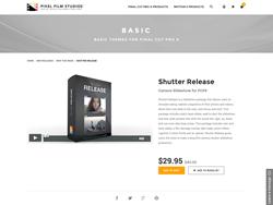 FCPX Plugin - Shutter Release -  Pixel Film Studios