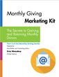 Set Up Your Monthly Giving Marketing Plan in 4 Simple Steps