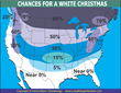 The Chances for a White Christmas