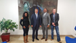 Left to Right: Amina Afif, Head of Division SCRIPT-ADQS; Minister Claude Meisch, Minister of Education; Anand Karat, President-Vretta; Luc Weis, Director-SCRIPT
