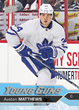 Upper Deck Signs #1 NHL Draft™ Pick Auston Matthews to Exclusive Autograph Trading Card Deal