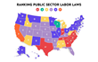 First Ever 50-State Comparison & Grading of Public Sector Labor Laws Released
