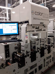 Flexographic and Digital Hybrid Label Press