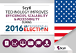 Scytl Technology Improves Efficiencies, Scalability and Accessibility to Over 53M Voters During the 2016 US Election