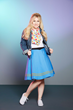 This Star Trek Atomic Delta Pattern Infinity Scarf and Star Trek TOS Uniform Skirt are part of the ThinkGeek Star Trek Collection by Her Universe. The skirt comes in a variety of Star Trek colors.
