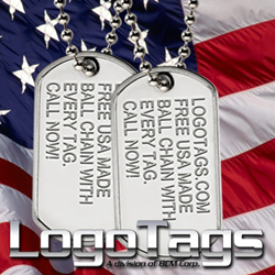 LogoTags Custom Dog Tags