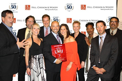 Level Homes Fast 50 Awards