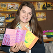 Sammi, a student of Glenholme, collected and mailed hand-made cards to FlintKids.