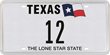 Who will Own the Number 12 as their Official Texas License Plate?