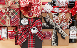 Create custom holiday labels in a variety of sizes, shapes and materials.