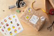 Create custom emoji address labels and stickers using Avery Design & Print.