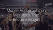 MLB Players Sign Autographs Deal With lettrs App