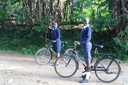 Gifting a bike can help improve lives in rural parts of Africa