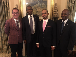 KP Chair meets Minister of Infrastructure and Housing Development in Botswana