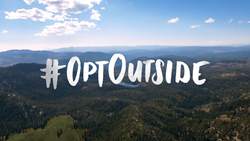#OptOutside with REI on Black Friday
