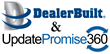 DealerBuilt announces UpdatePromise360's Consumer Experience Lifecycle Solution as part of the DealerBuilt's LightYear DMS Suite