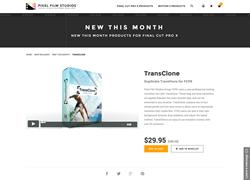 TransClone - FCPX Plugin - Pixel Film Studios