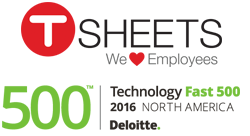 TSheets Secures Fastest Growing Company in North America on Deloitte's 2016 Technology Fast 500™