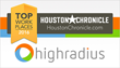 HighRadius Named in the Houston Chronicle 2016 Top Workplaces