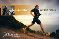 GoX Studio. The world's most accurate fitness tracker