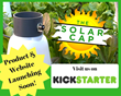 The Solar Cap by Safegrow - A Mini Solar-Powered Greenhouse for Your Home Garden