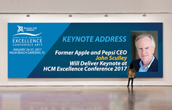 John Sculley Delivers Keynote at HCM Excellence Conference 2017