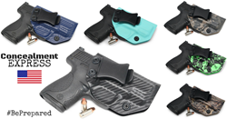 Concealment Express IWB KYDEX Holsters