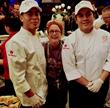 Chef Susan Feniger with C-CAP LA Students