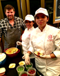 Chef Ben Ford with C-CAP LA Students