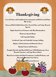 Boulder Marriott Thanksgiving Buffet Menu