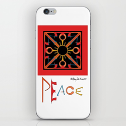 peace socially conscious tech technology accessories laptop covers iPad skins sleeve phone cases word art hidden words Mary DeArment custom designs