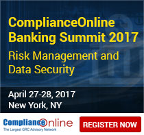 ComplianceOnline Banking Summit 2017 | Risk Management and Data Security