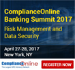 ComplianceOnline to Host Banking Summit on April-27-28, 2017 in New York, NY