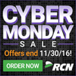 RCN Launches Holiday Deals; Offers Gifts Cards Up to $100