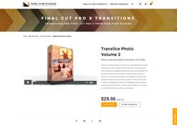 TranSlice Photo Volume 2 - Final Cut Pro X - Pixel Film Studios Plugin