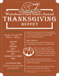 Waterfront Place Hotel Welcomes Guests and Locals to Thanksgiving Buffet this November