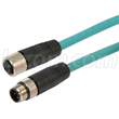 L-com Debuts Premium M12 Cable Assemblies for Harsh Environments