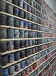 "Ehren Tool, ""Untitled,"" 2016. Stoneware. 96 x 96 inches. Photo by Artist."
